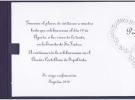 Invitación abierta 32x10cm