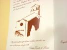 Pintura aguada de la iglesia